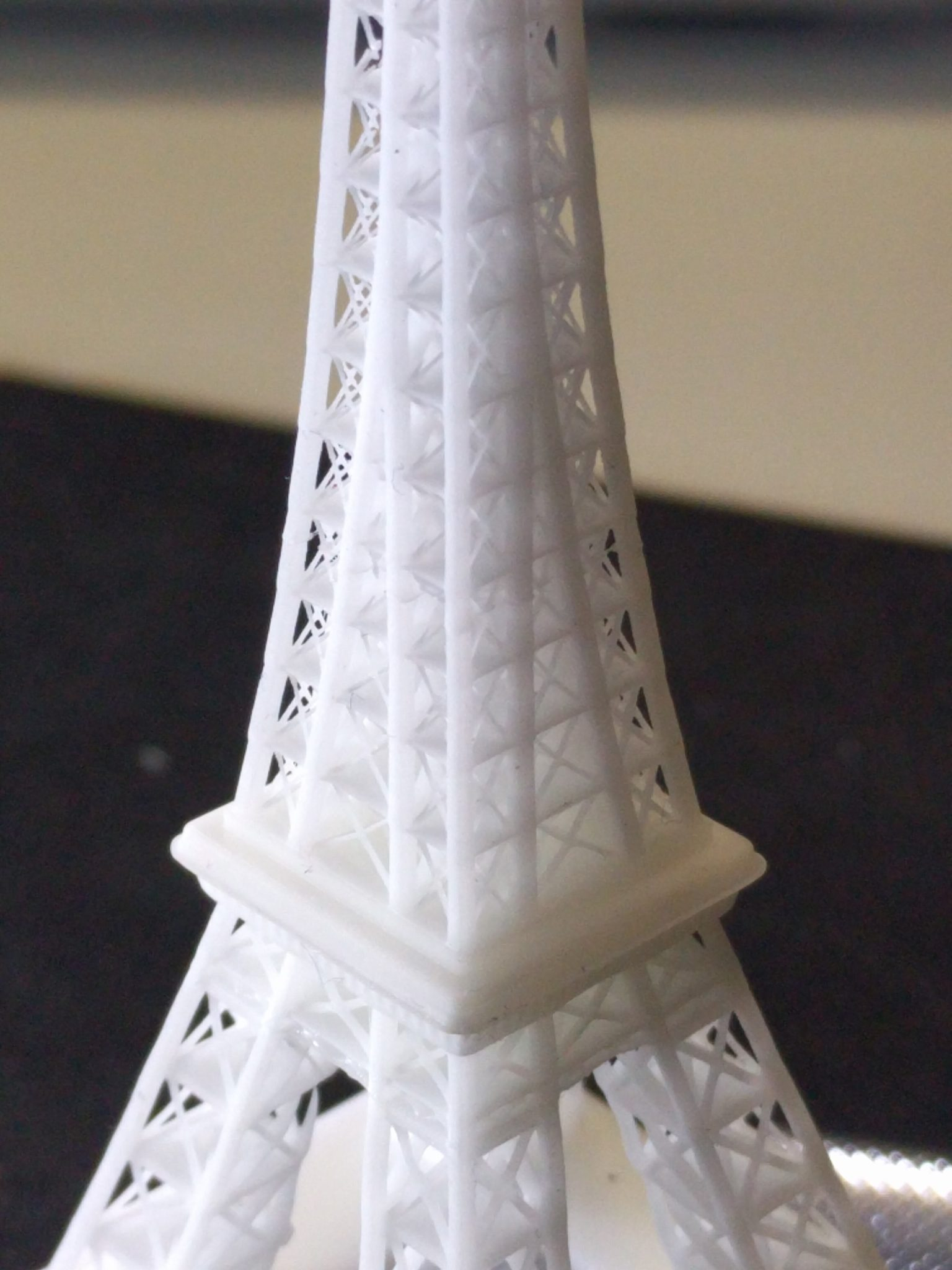 Eiffel tower - 100 micron - Wanhao D7