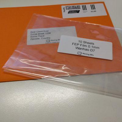 FEP Samples