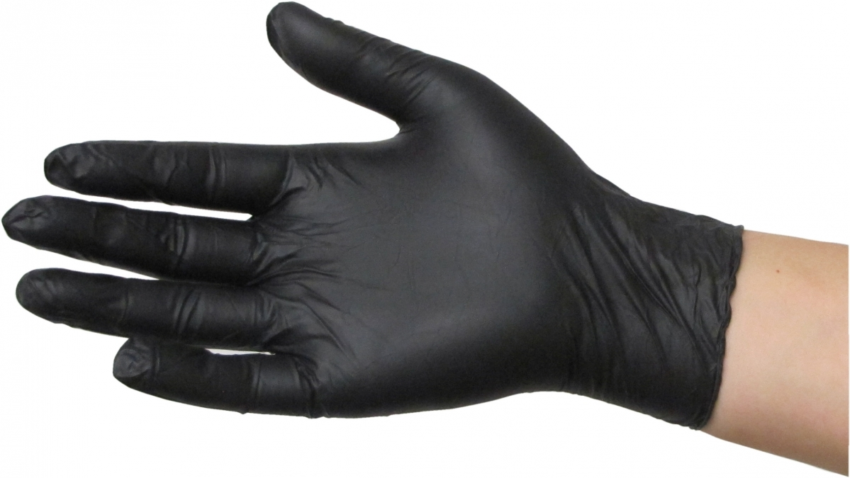 Disposable Gloves Black Nitril