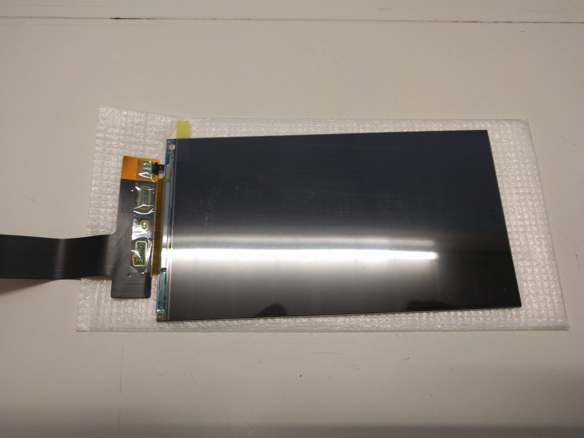 Wanhao D7 LCD Display