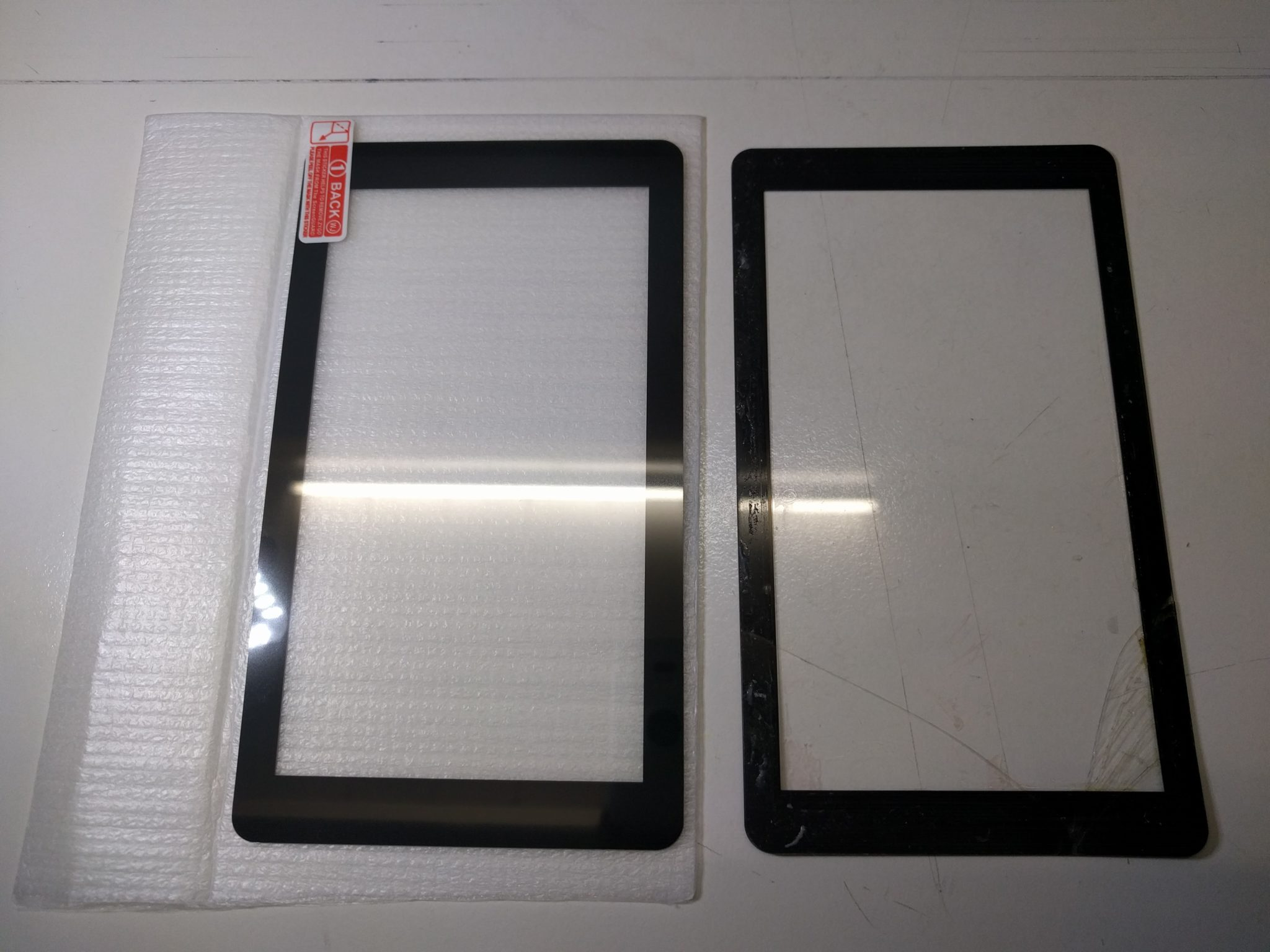 FEPshop Front Glass (for 5.5″ LCD)