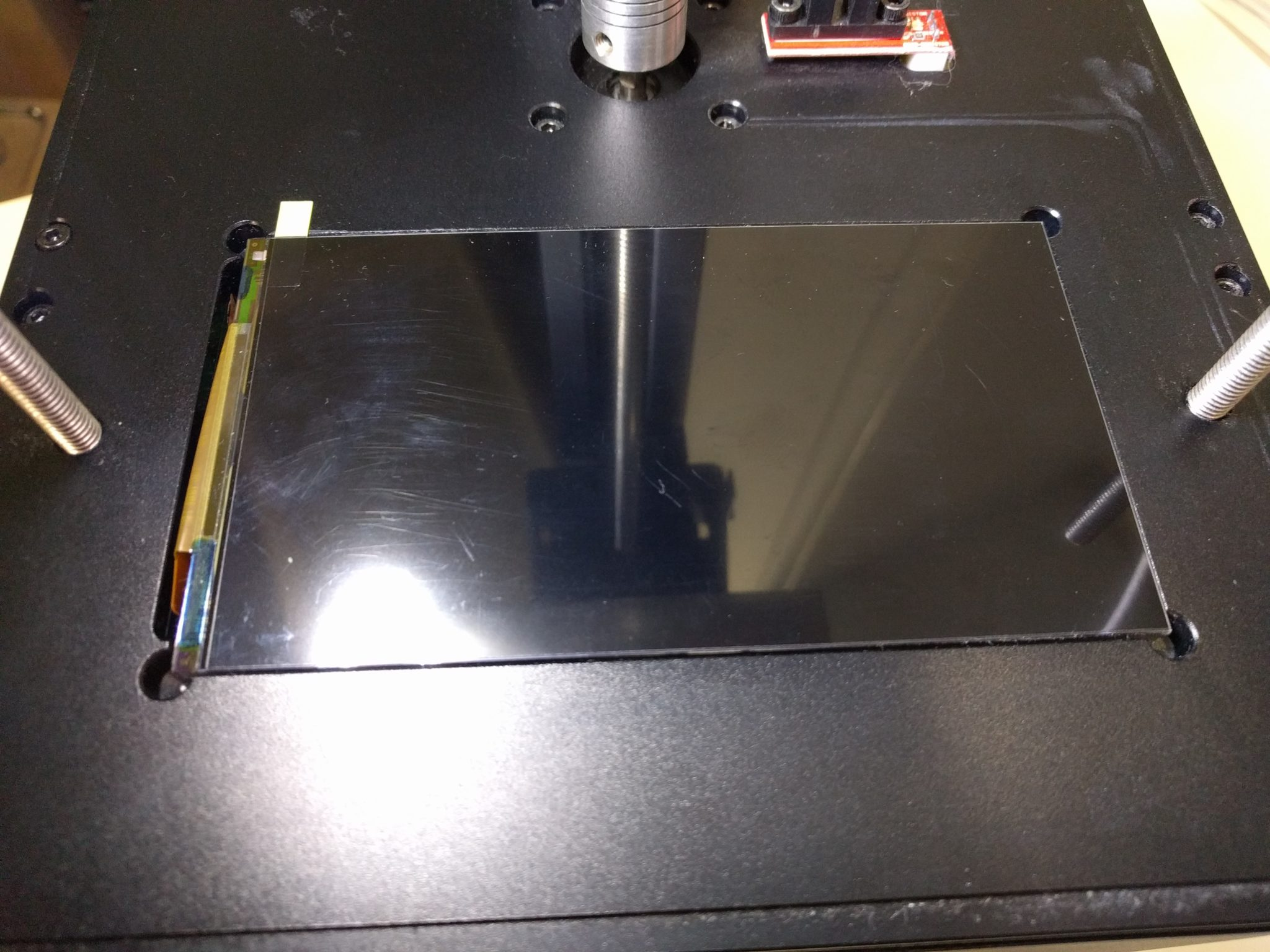 KLD 1260 LCD with glass back