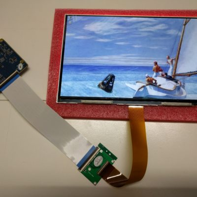 8.9″ LCD with HDMI Driver set
