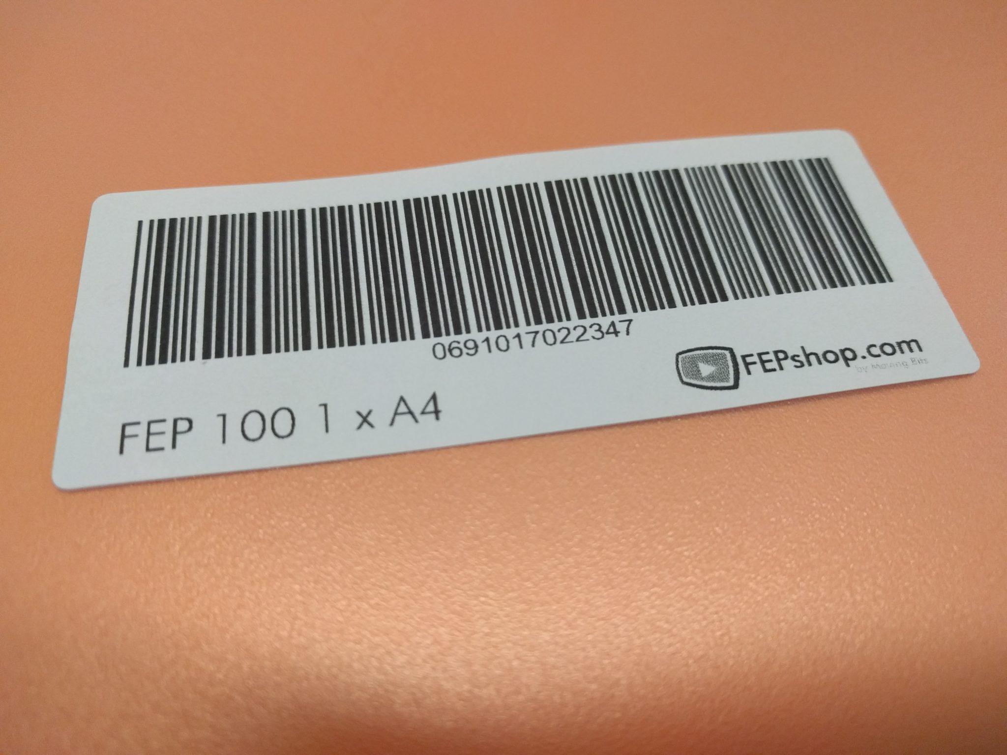 FEP 150 Premium A4 – 1 Sheet