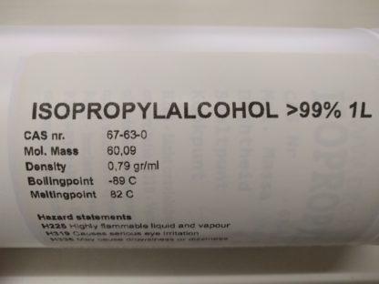 IPA Isopropylalcohol > 99% 1ltr