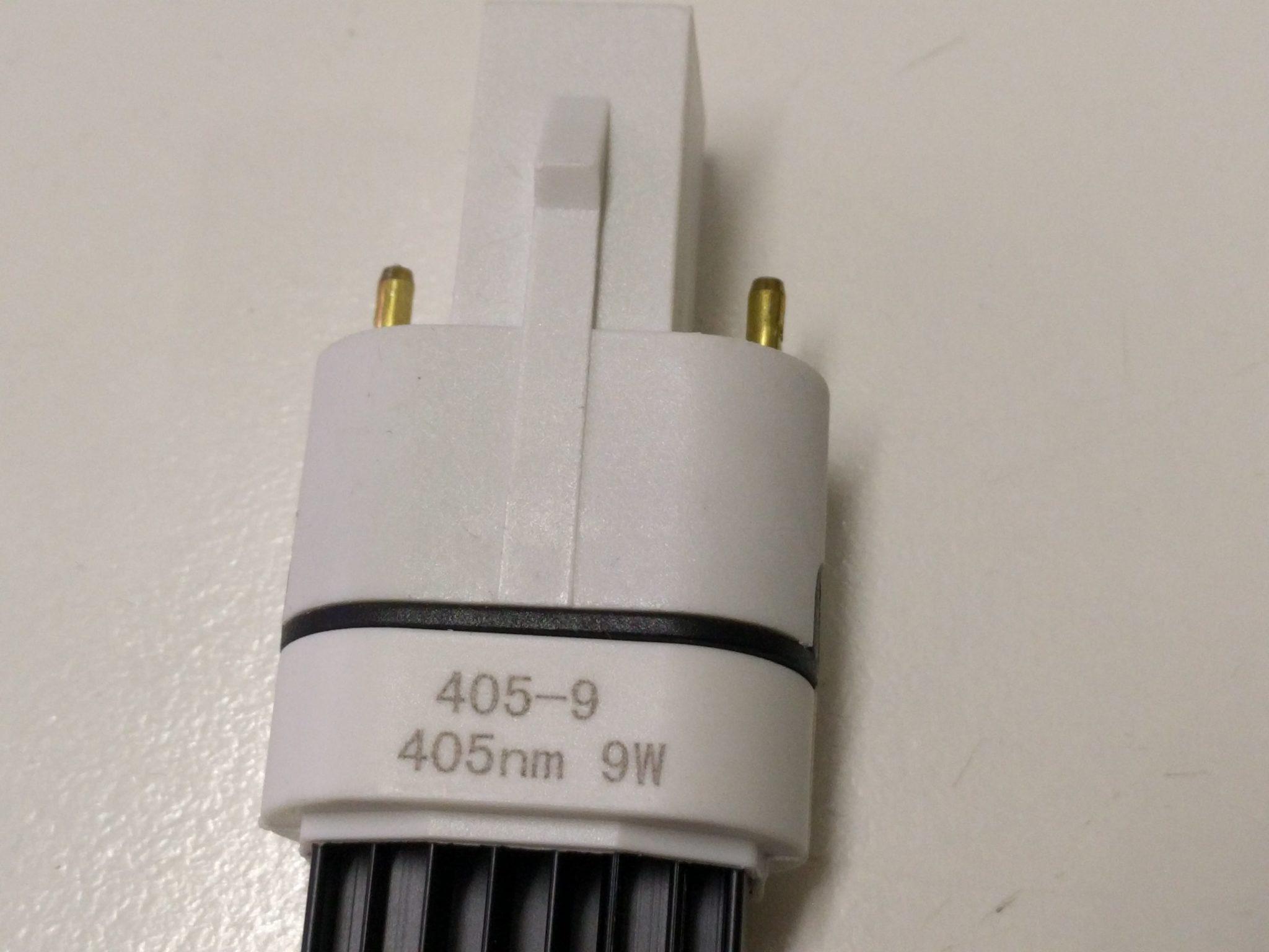 9W UV Led cure bulb 405nm