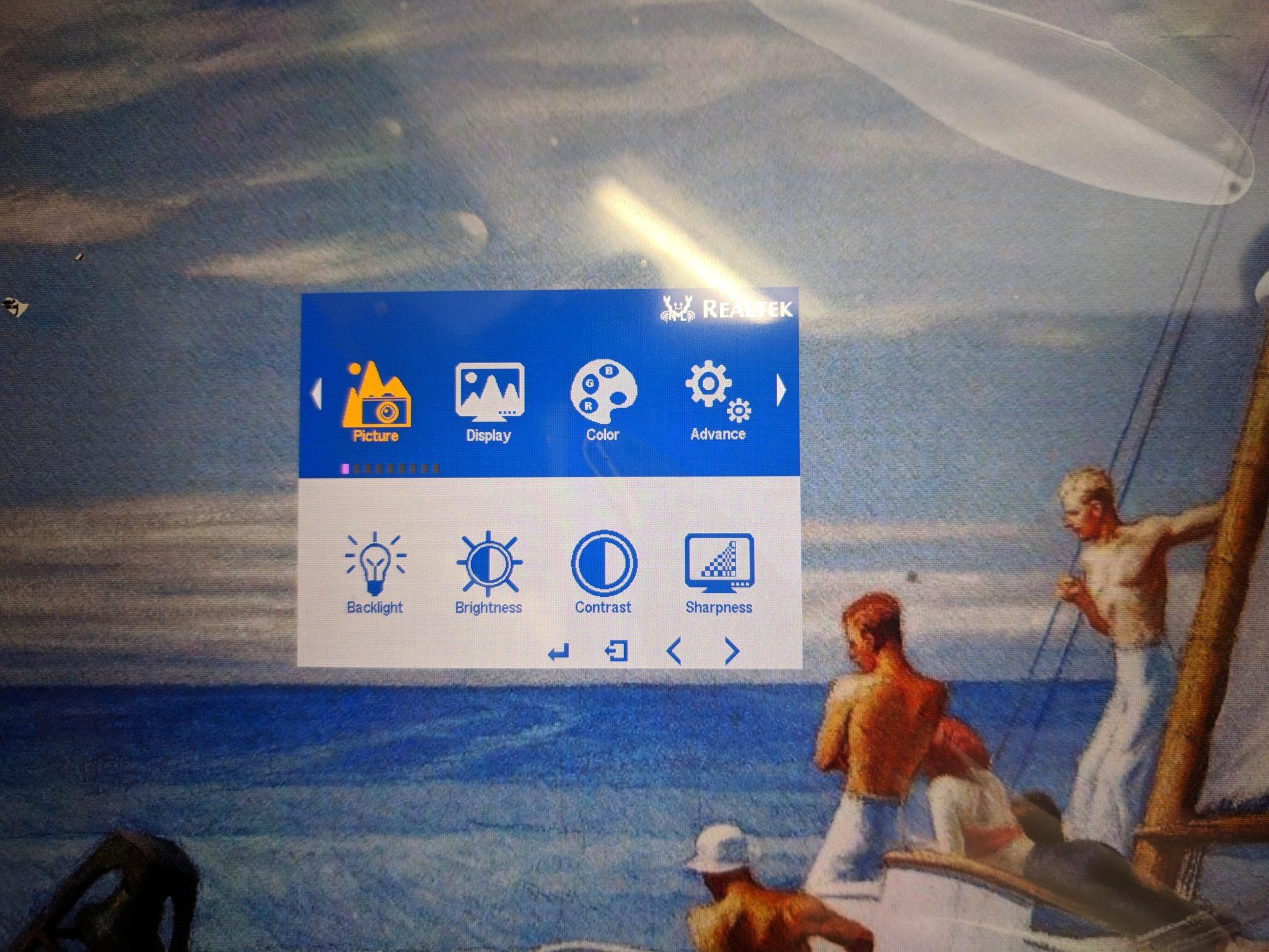 "10.1"" LCD Menu 1"