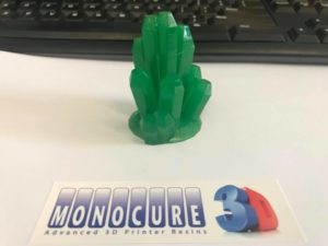 Monocure3D Rapid green