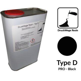 DruckWege Typ D Pro Black