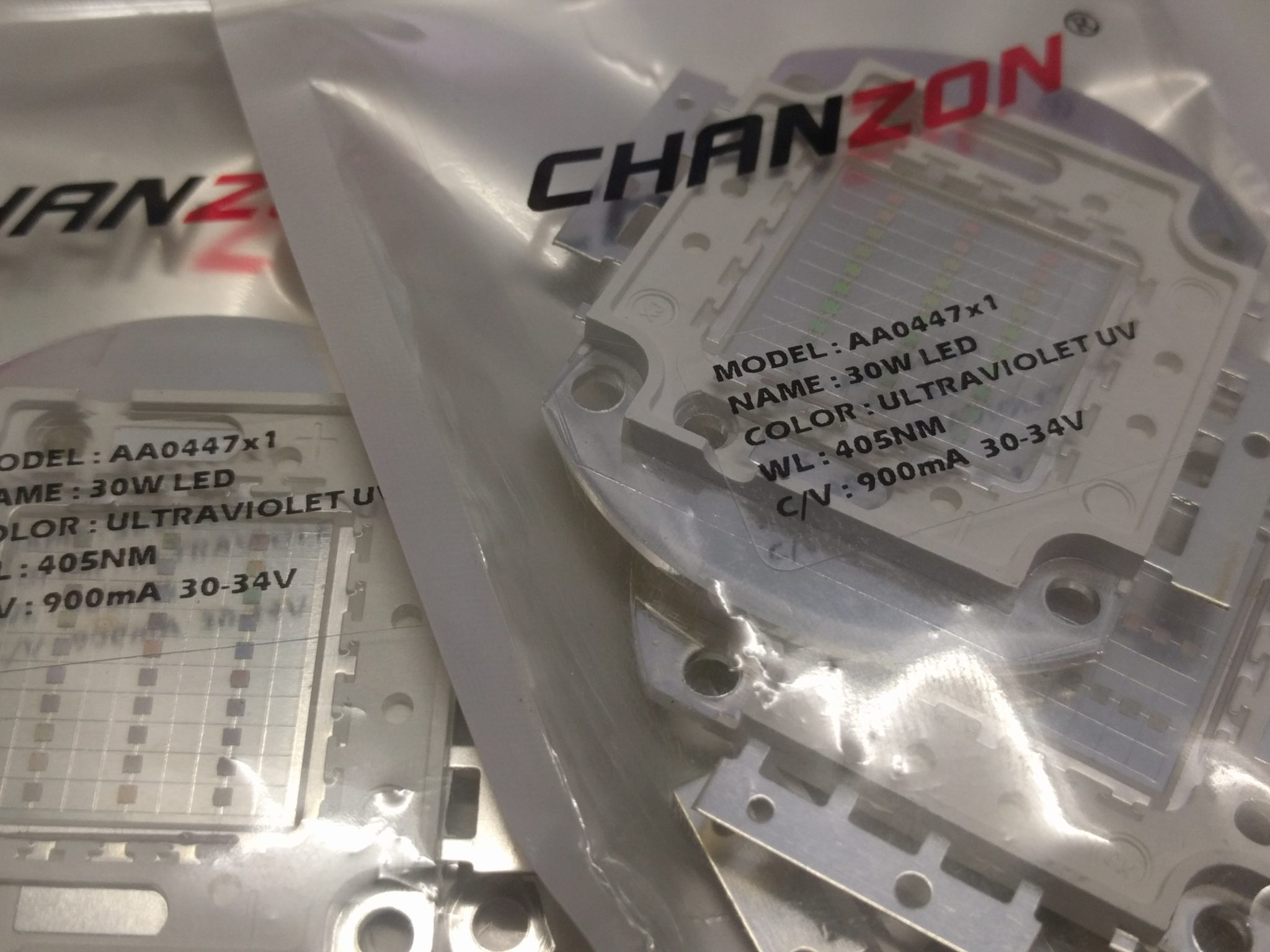 Chanzon UV LED 30W