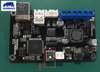 Wanhao D7 Mainboard v1.2