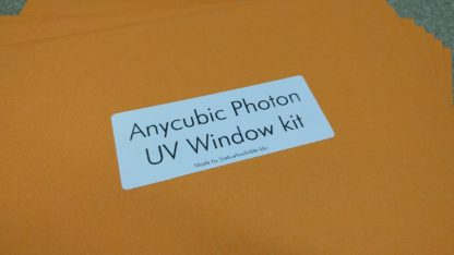 Anycubic photon UV protection kit packaging