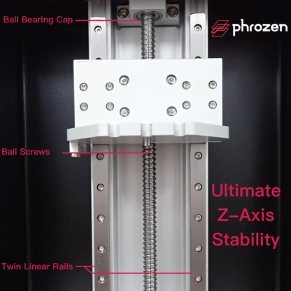 Phrozen Shuffle - Ultimate Prosumer 3D Printer z-axis
