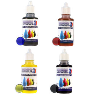 Monocure3d CMYK Pigment set for resin