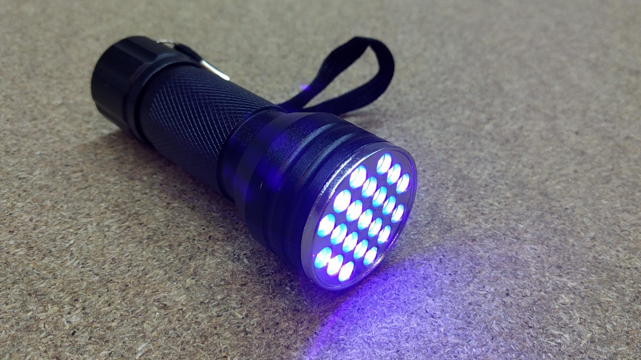 UV LED Flashlight >395nm
