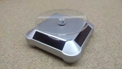 Solar rotating platform