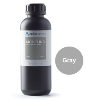 ApplyLabWorks Modeling Gray Bottle