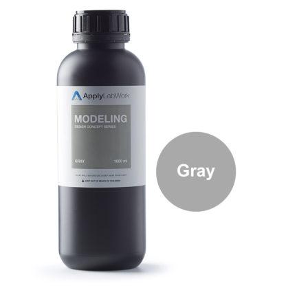 ApplyLabWorks Modeling Gray Bottle