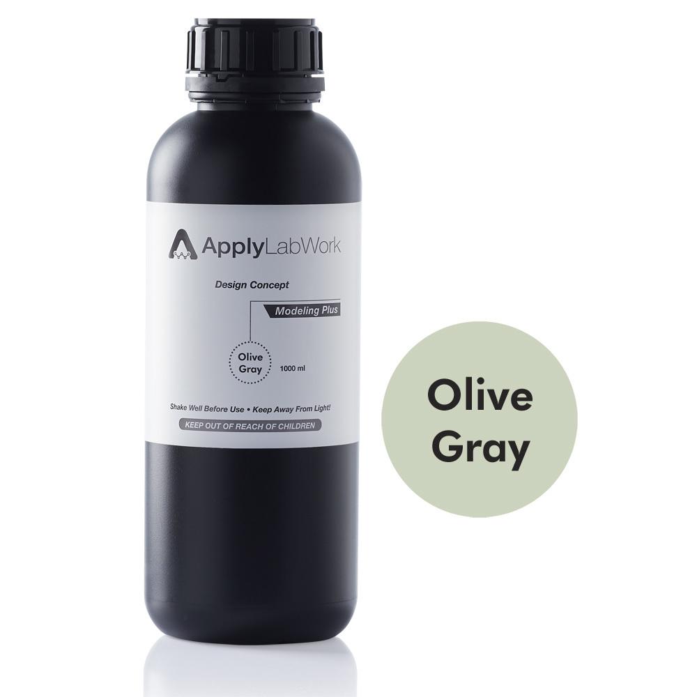Applylabwork Resin SLA Modeling Plus – Olive Gray