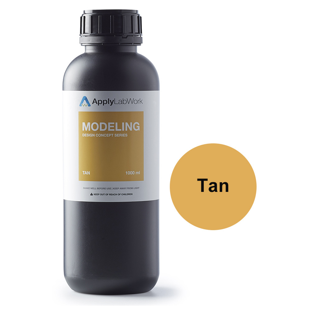 Applylabwork Resin SLA Modeling – Tan