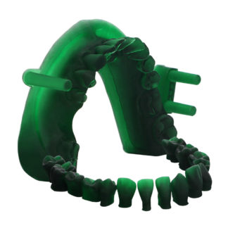 dental castable uv resin green