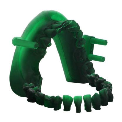 dental castable uv resin green