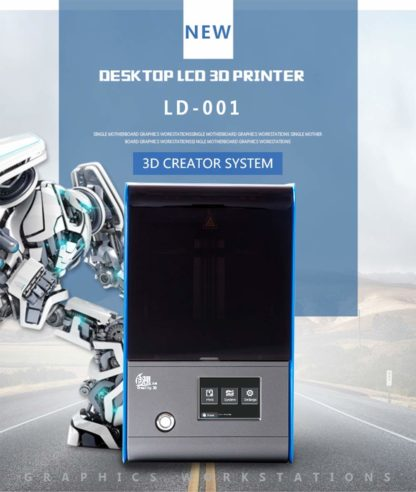 Creality LD-001 resin lcd sla 3d printer