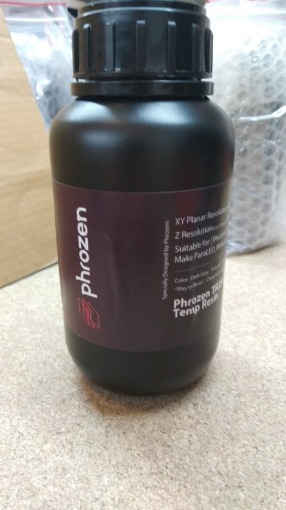 Phrozen High Temperature UV Resin Dark Gray TR250