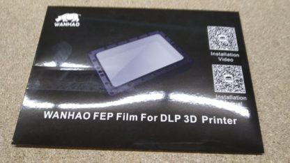 Wanhao D7 FEP Sheet
