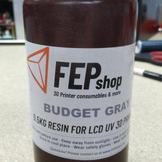 Budget resin for UV 3D Printers