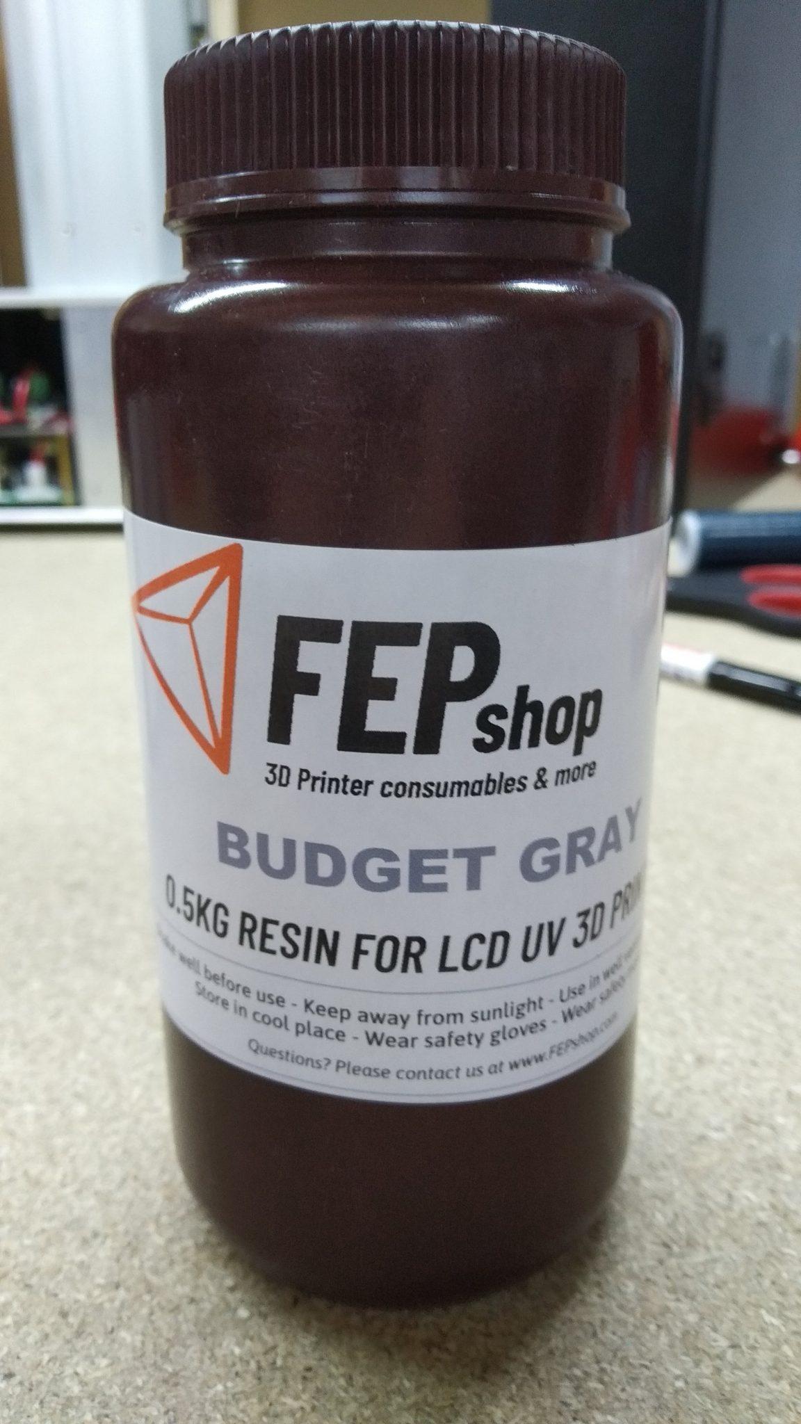 FEPshop Budget Resin – Grey