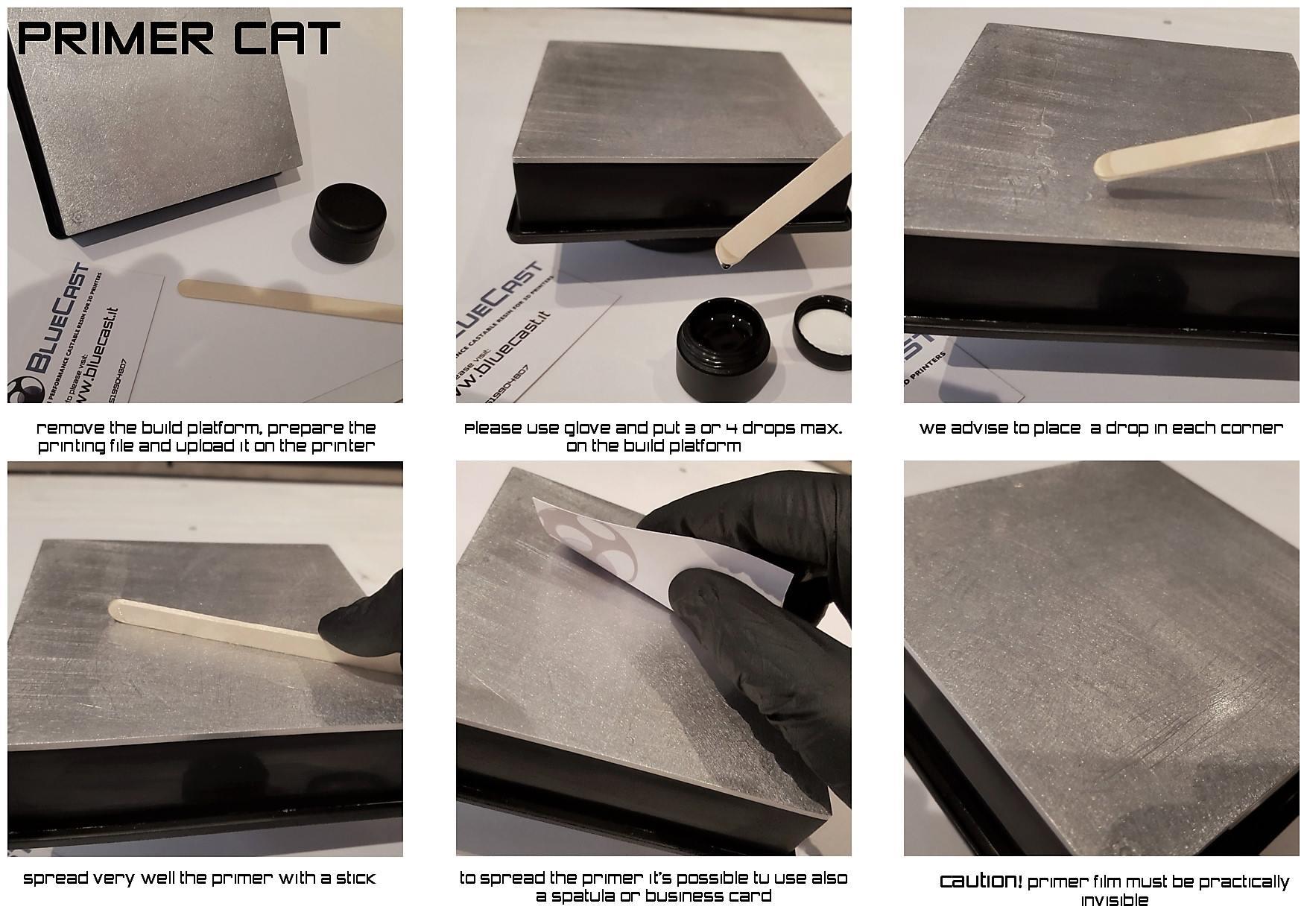 BlueCast Primercat usage instructions
