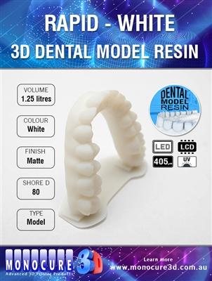 Monocure 3D Rapid Dental White