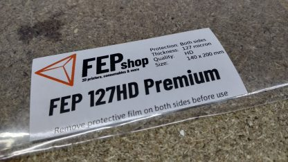 "FEP 127HD Premium for 5.5"" LCD Printers"
