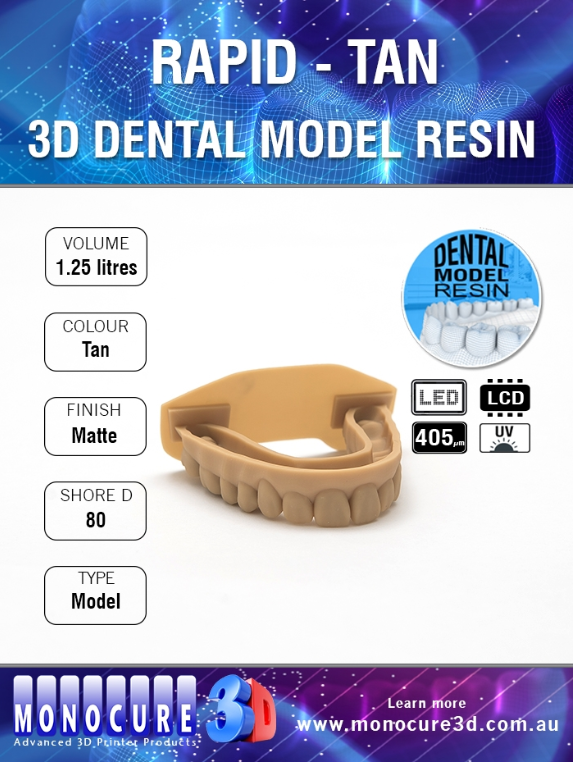 MonoCure 3D Rapid Dental