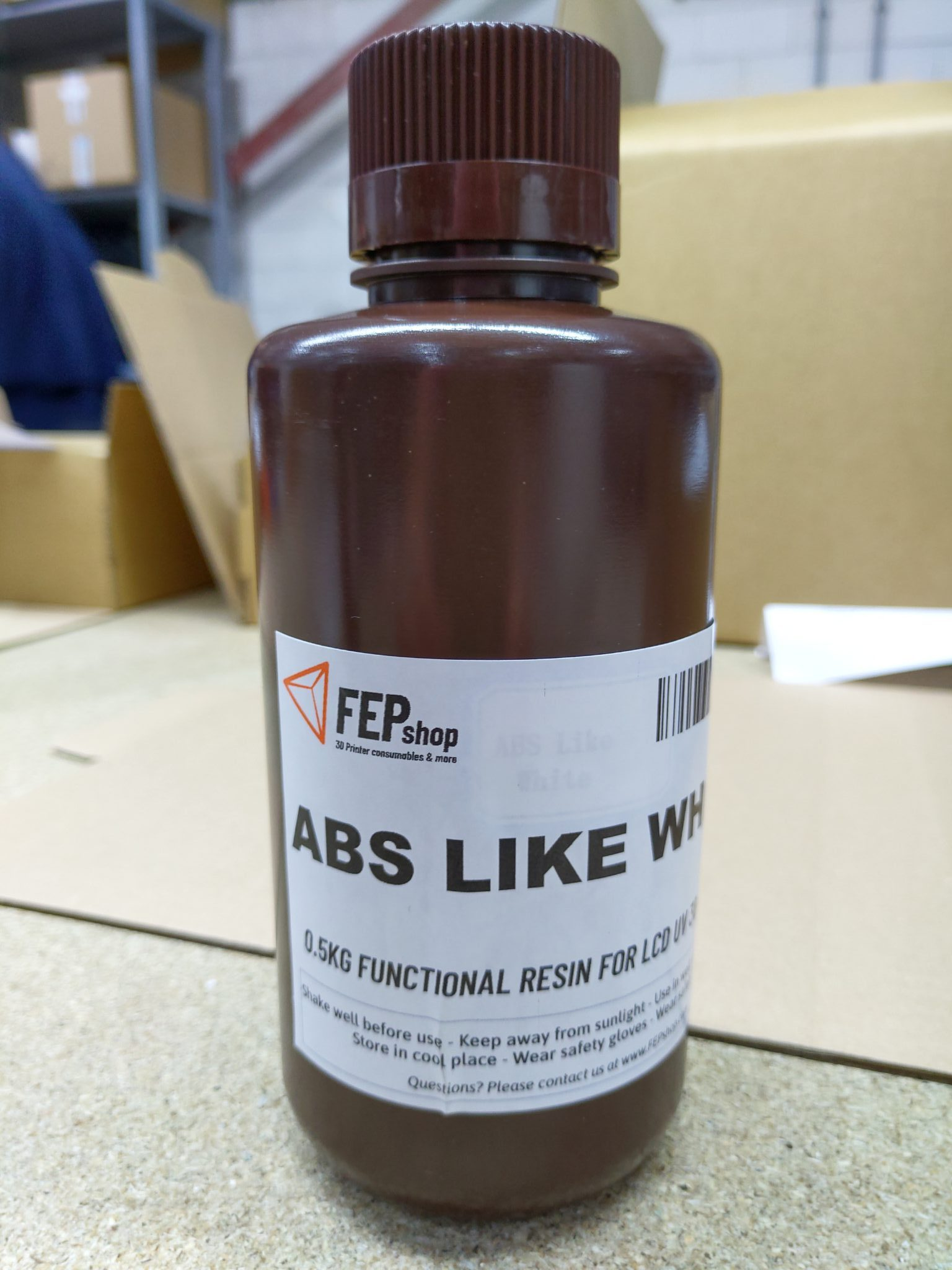FEPshop – Basic Resin – ABS Like Gray