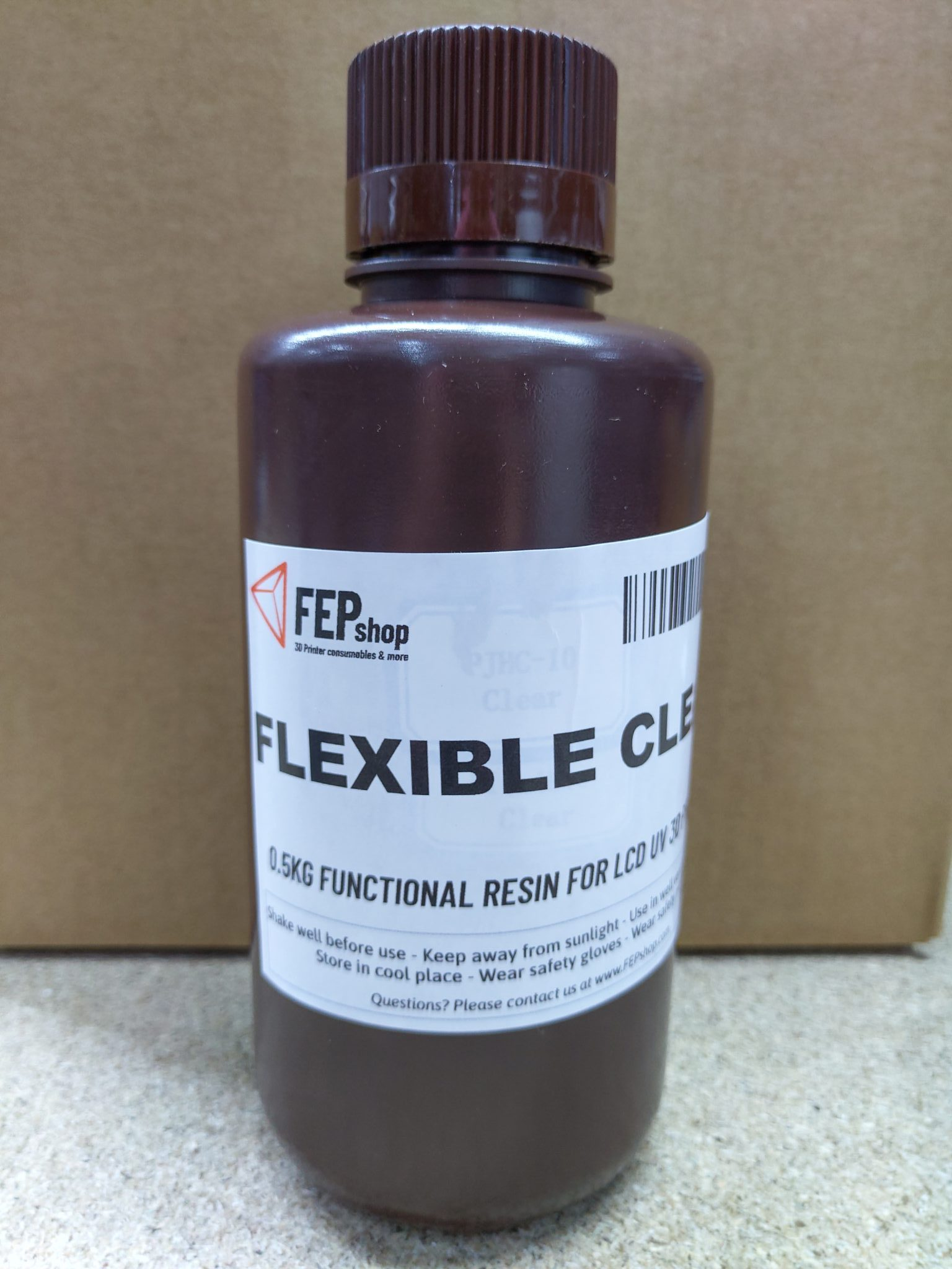 FEPshop Flexible Resin – Clear