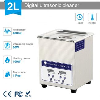 Clean your 3D Prints with Ultrasonic Cleaner 2L