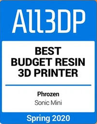 All3dp Best Budget Resin 3D Printer