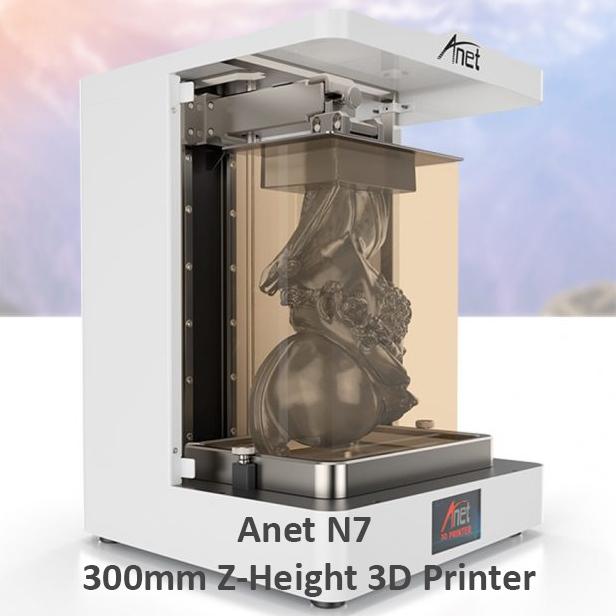 Anet N7 3D Printer Large buildsize 300mm Z