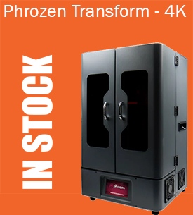 Phrozen Transform 4K 3D Printer in stock