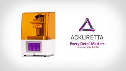 Ackuretta Freeshape 120 Dental 3D Printer