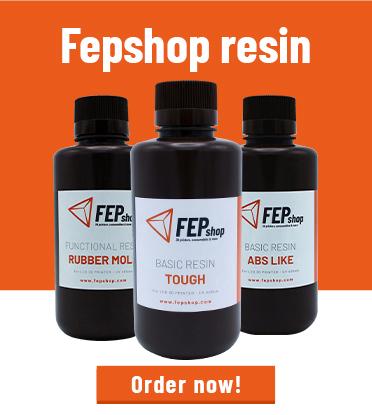 FEPshop resin