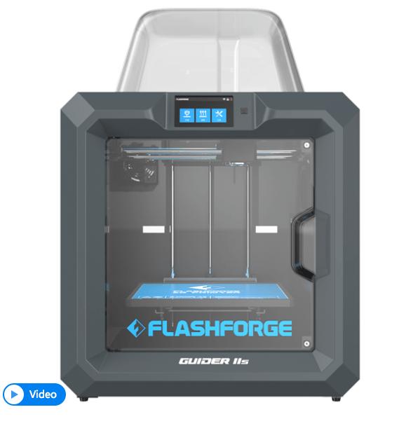 Flashforge Guider II S –  High temperature