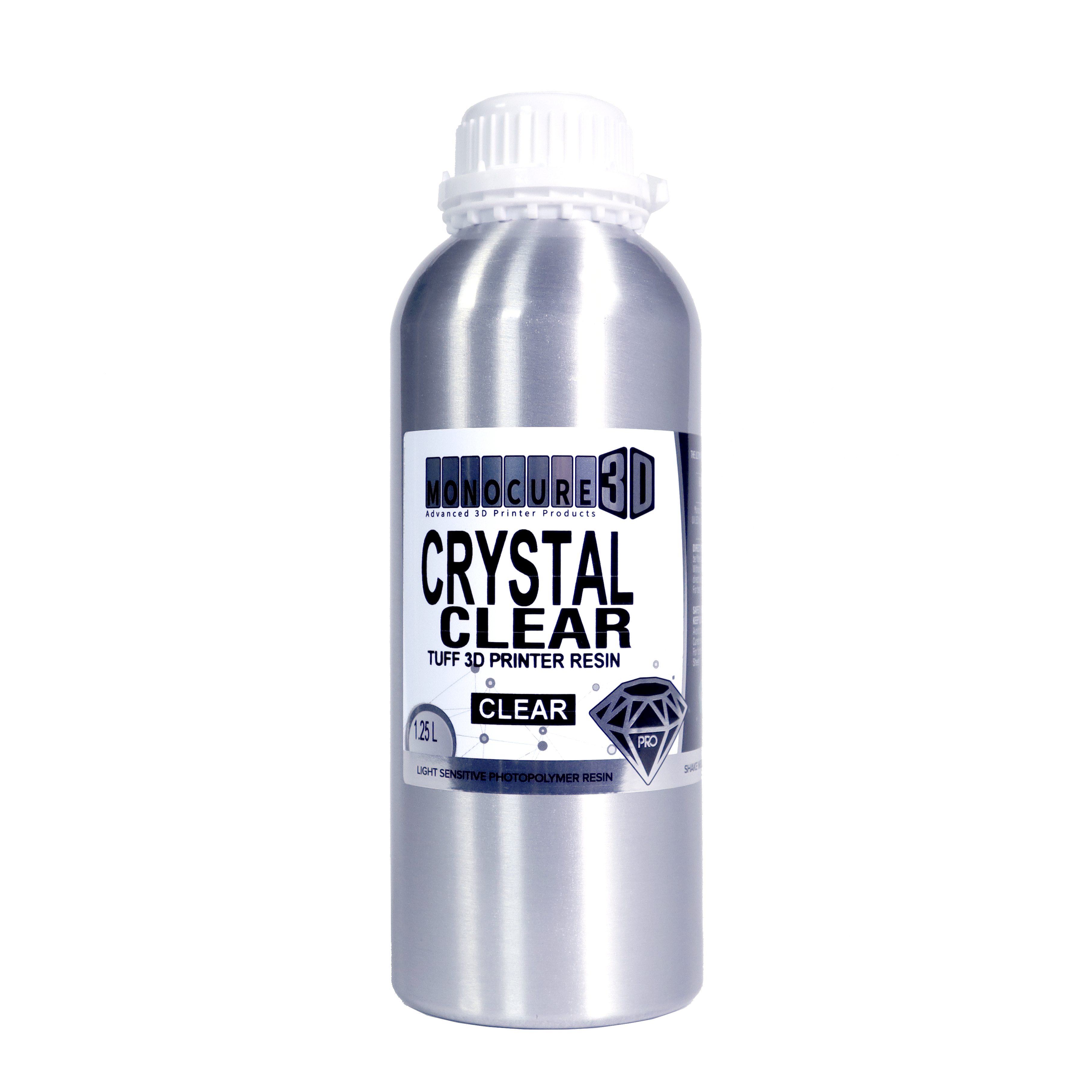 MonoCure 3D PRO Crystal Clear Resin