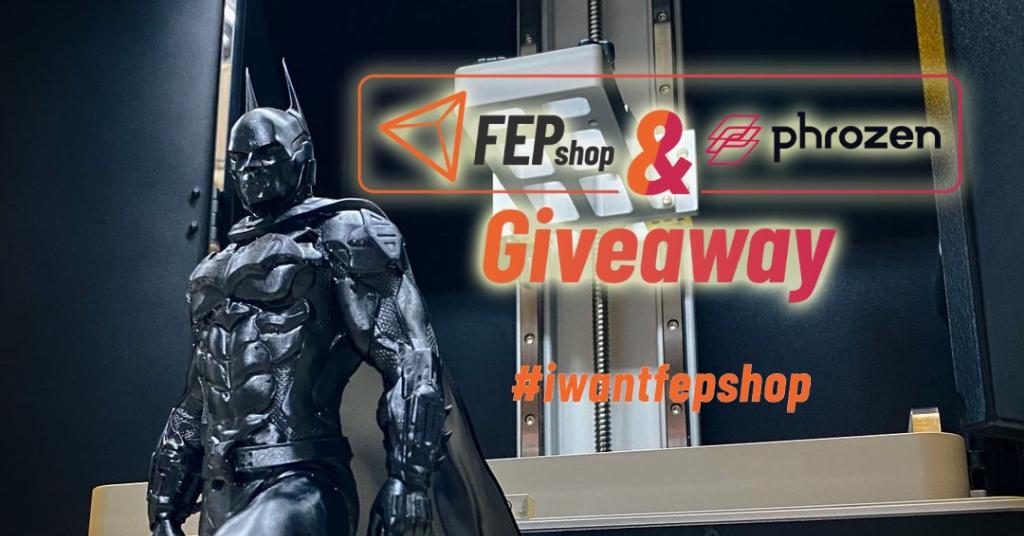 FEPshop & Phrozen Giveaway competition promotion